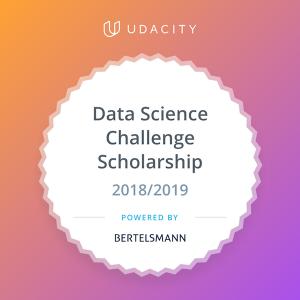 Bertelsmann-Data-Science-Scholarship-Badge