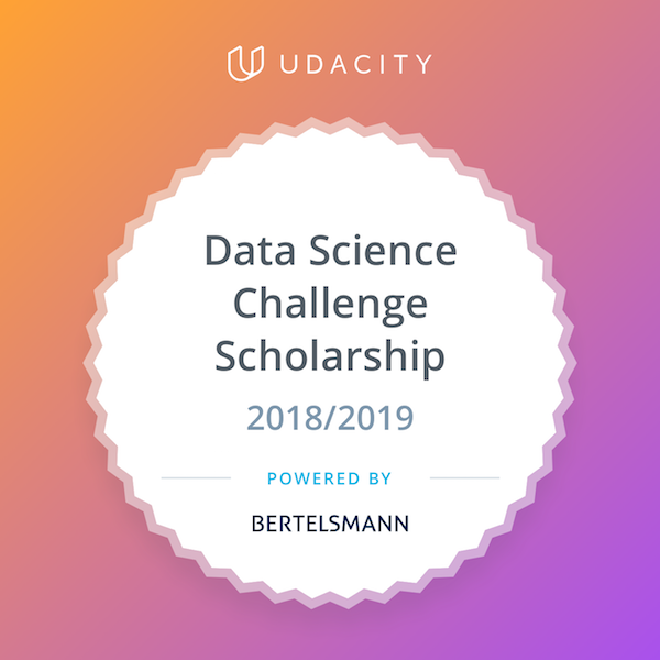 Bertelsmann-Data-Science-Scholarship-Badge