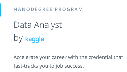 Data Analyst by Kaggle