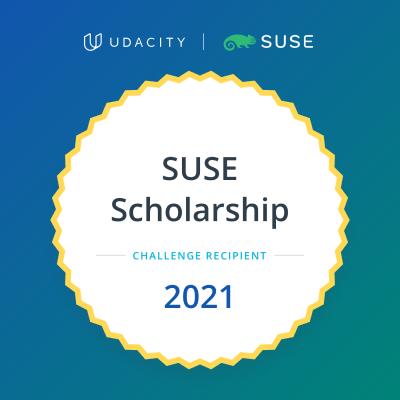 Badge - SUSE Scholarship with Udacity 2021