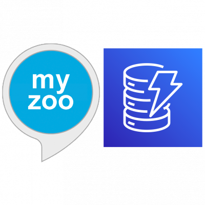 """my zoo"" plus AWS DynamoDB Icons"