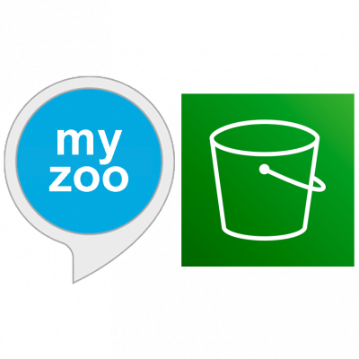 """my zoo"" and aws s3 icon"
