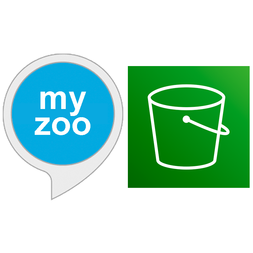 """""""my zoo"""" and aws s3 icon"""