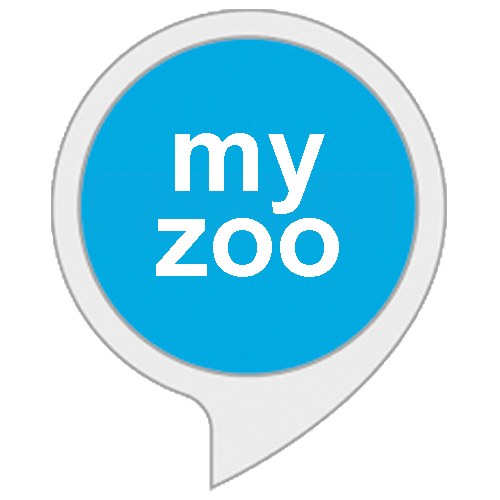 """my zoo"" Alexa skill icon"